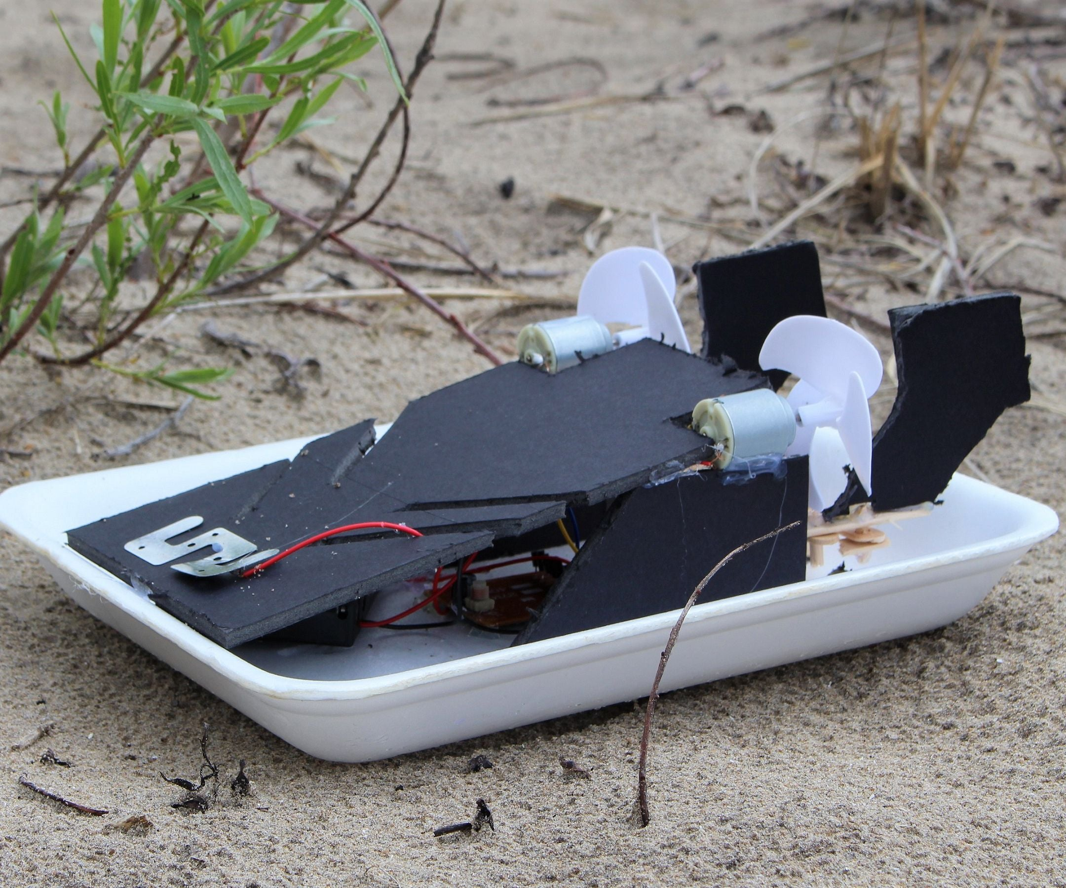 How To Make A Diy Remote Control Airboat 6 Steps With Pictures Instructables