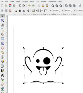 Drawing to Inkscape .svg