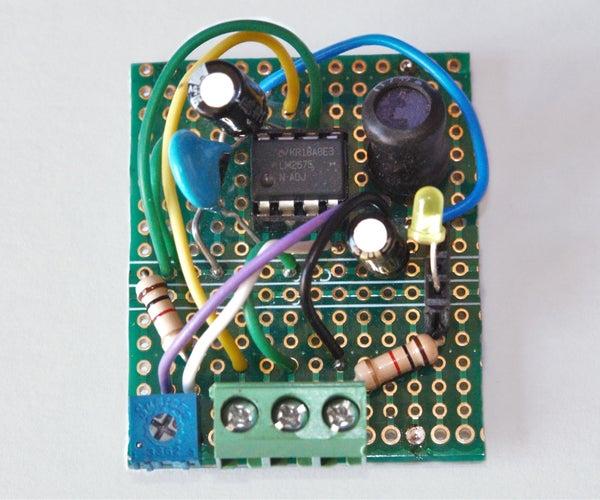 Super Efficient Buck Convertor 5V 1A Arduino Power Supply