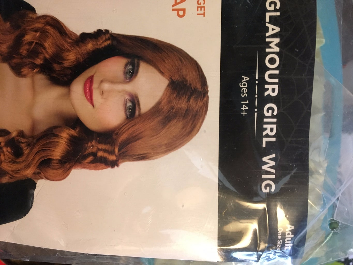 First, a Wig Is Purchased.