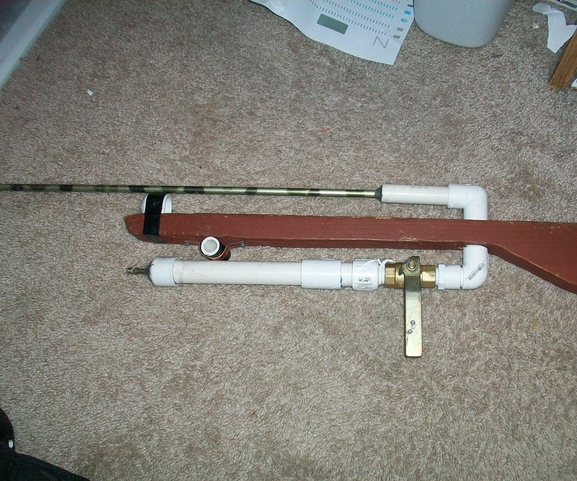 .26 cal pellet rifle