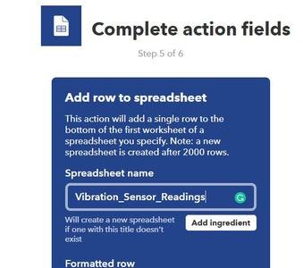 Create an IFTTT Applet