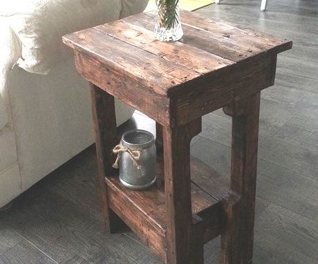 Easy Little End Tables in 2 hours