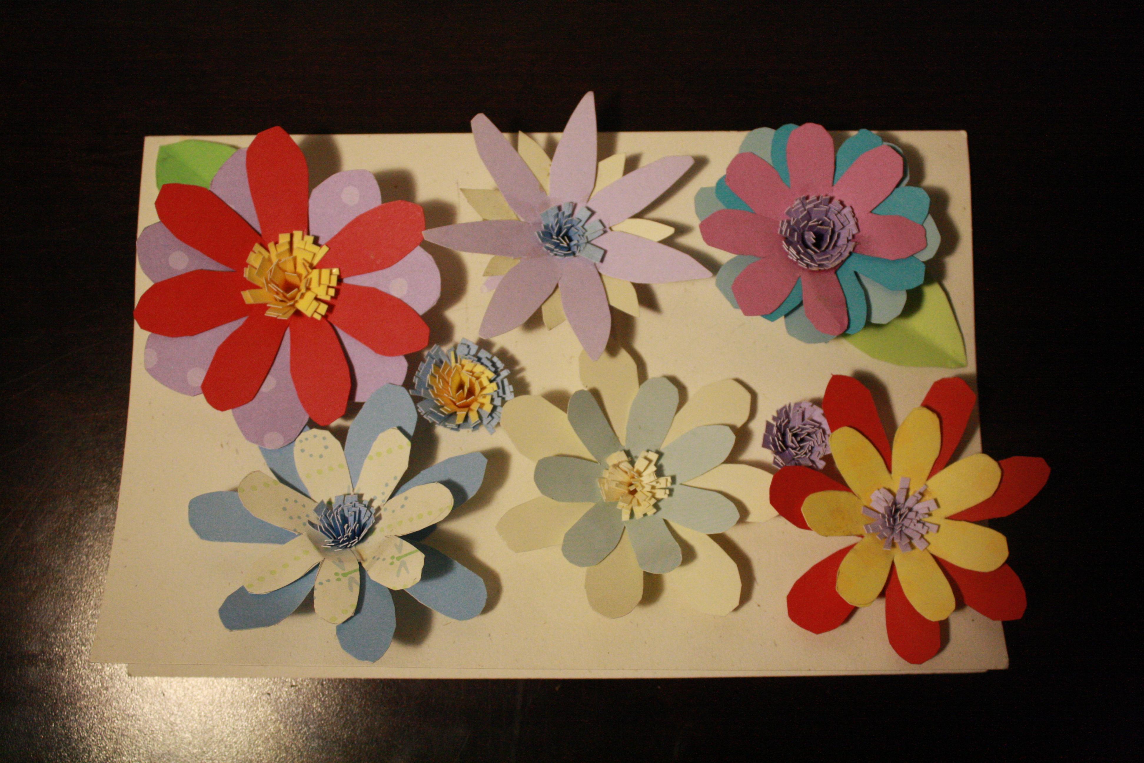 Make a Beautiful Pop-Up Flower Card