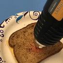 Grilled Cheese Via Heat Gun