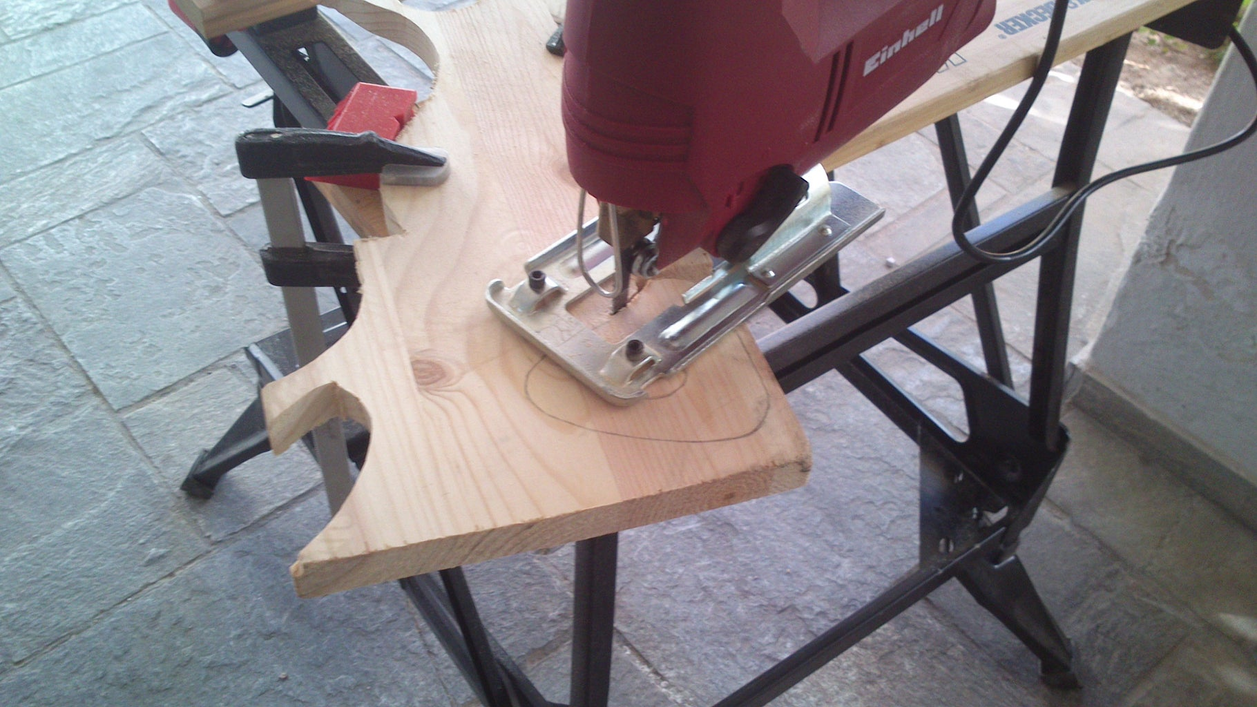 Cutting & Making the Outer Shape of Sail Boat