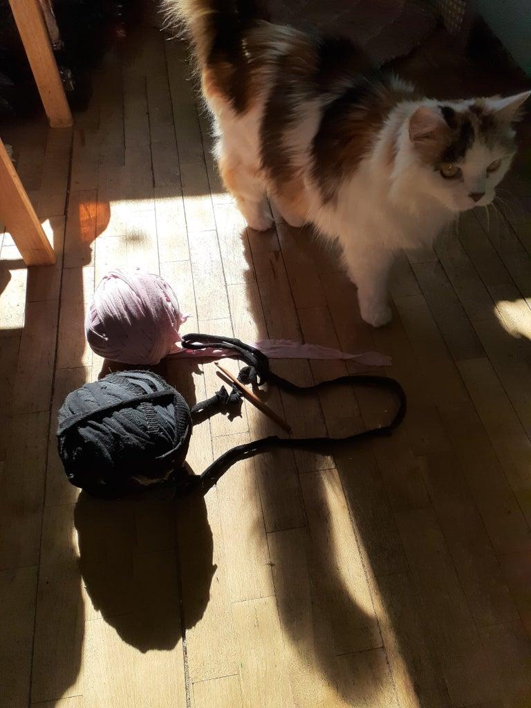 Preparing the Yarn