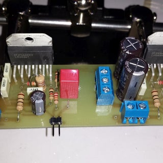Arduino Powered Gainclone (amplifier)