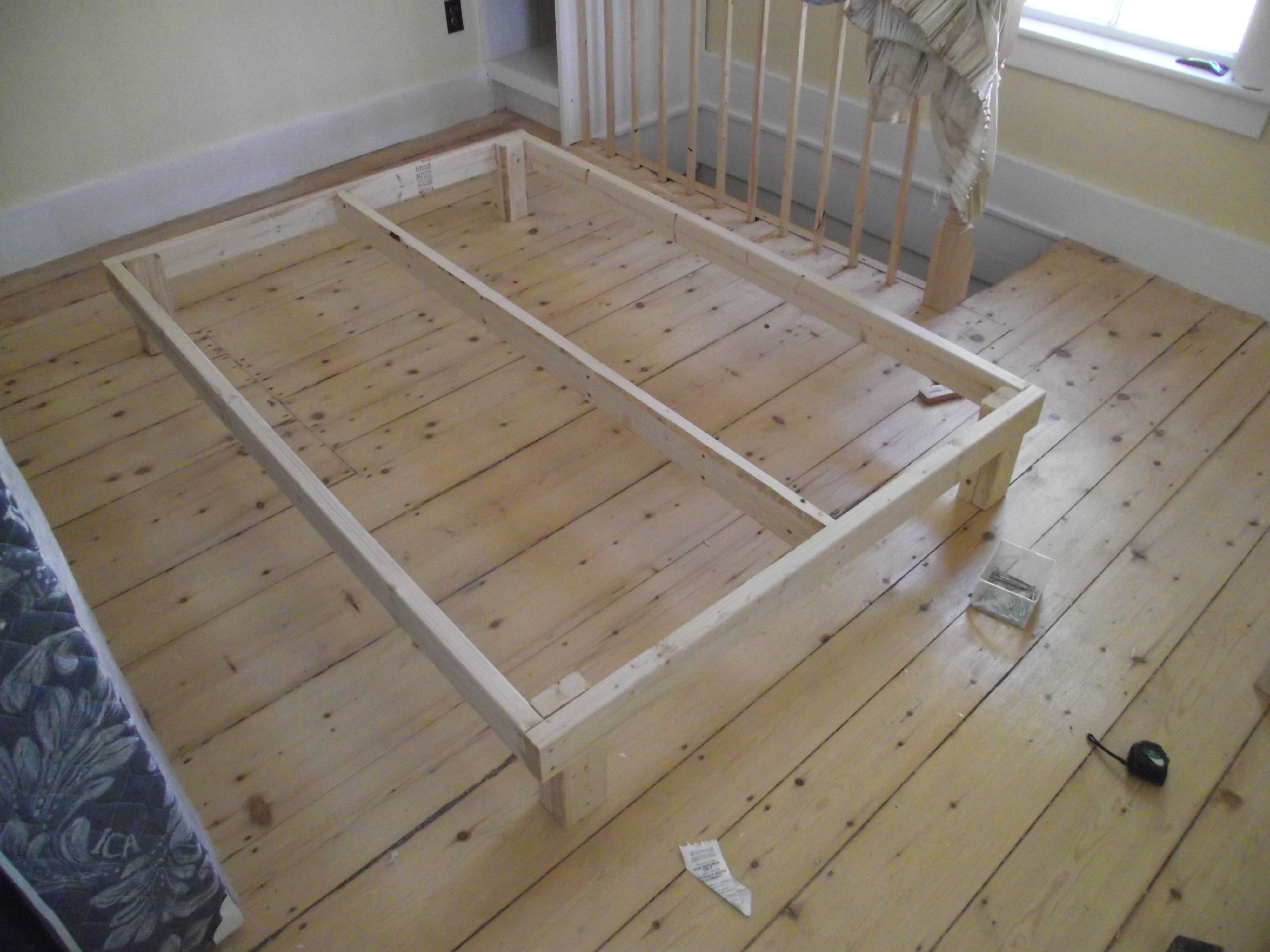 15 Bed Frame 6 Steps With Pictures Instructables