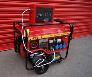 Automatic Generater Starter