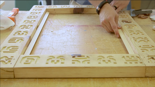 Adding Glyphs to the Top Frame