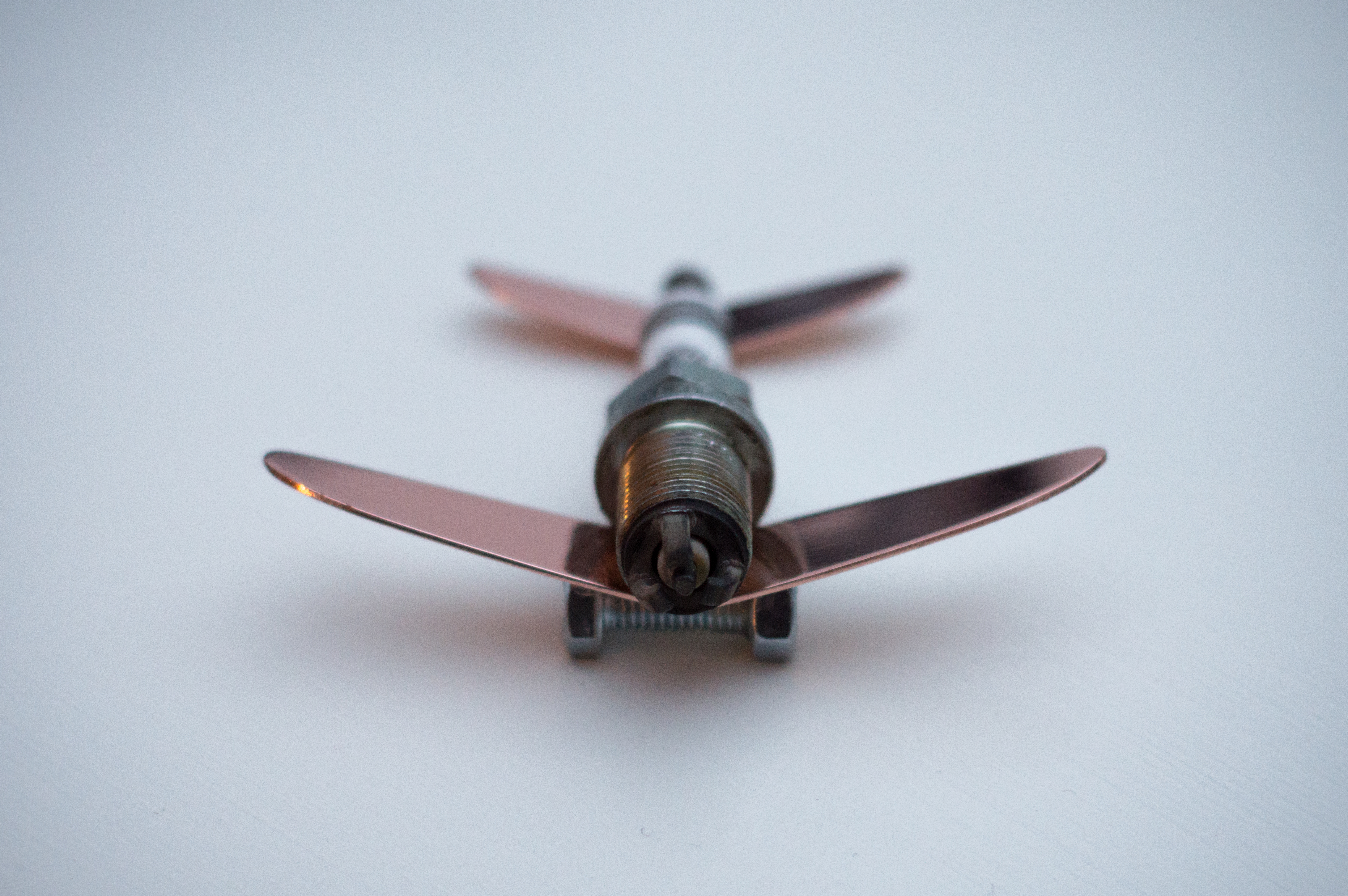 Spark Plug F35 Fighter Plane