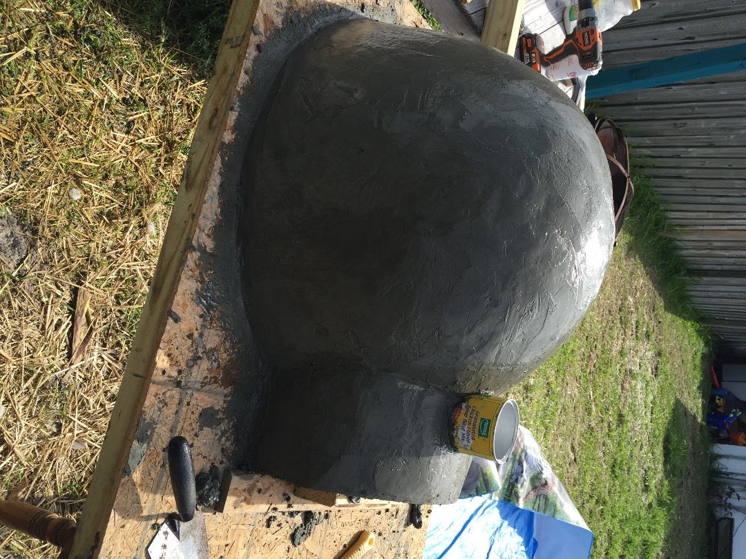 Finish Detail on Dome Top