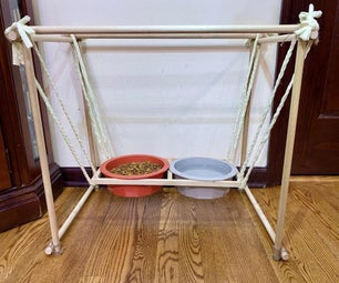 Spill-proof Suspension Dog Bowls