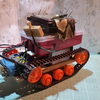 ROVER Bot - the Arduino Bluetooth Controlled Tank