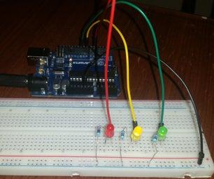 Arduino LED Traffic Light