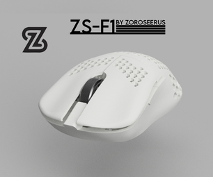 ZS-F1, F-2, Wireless 3D Printed Finalmouse Ultralight 2 Guide