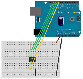 Program the AtTiny Using an Arduino