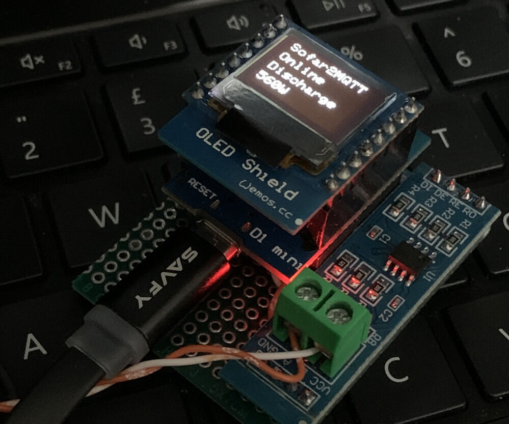 Sofar2mqtt - Remote Control for Sofar Solar Inverters