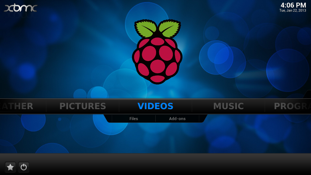 XBMC Media Center with Raspberry Pi