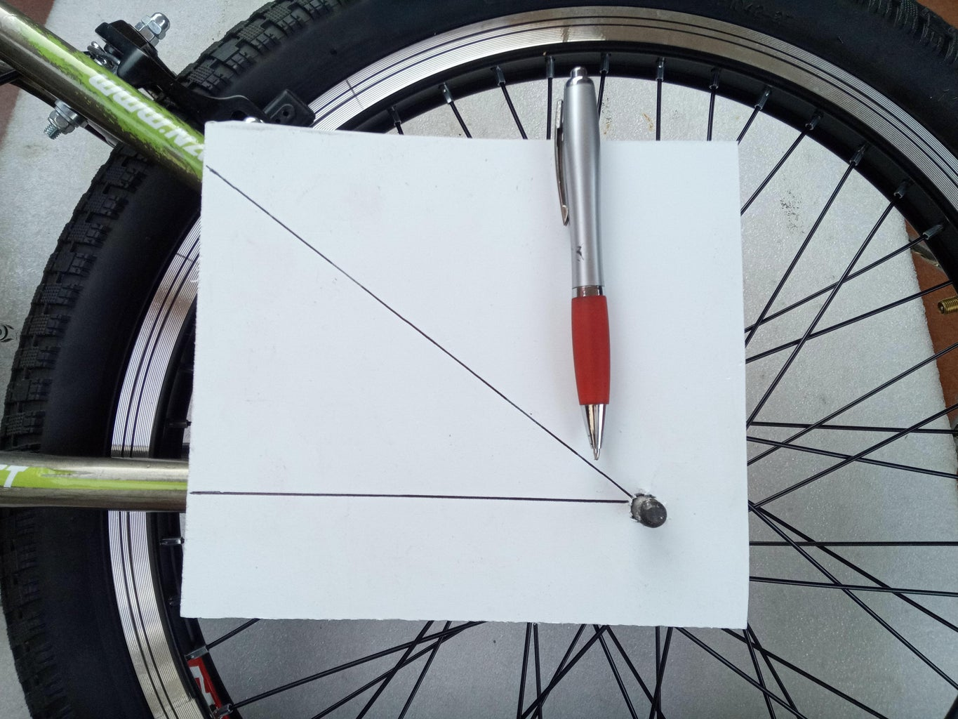Map the Bicycle Frame