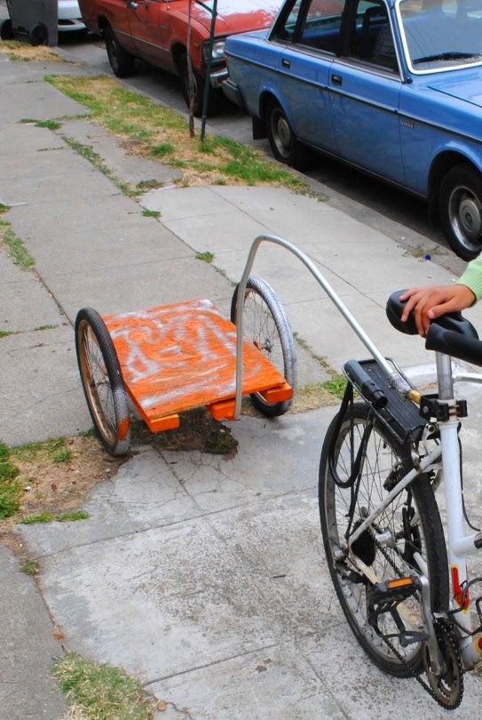 No Weld Bike Trailer