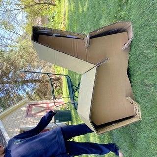 5 Piece Cardboard Lounge Chair