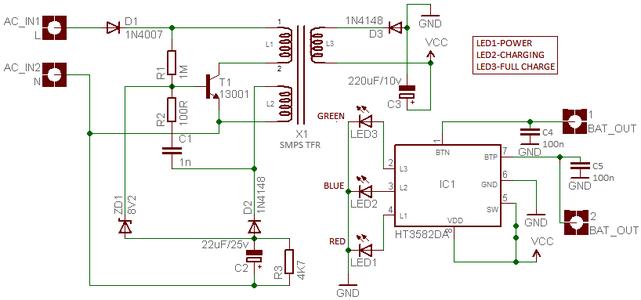 Circuit Diagram & Lab Note