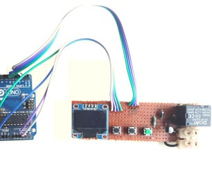 Simple Arduino Timer Switch