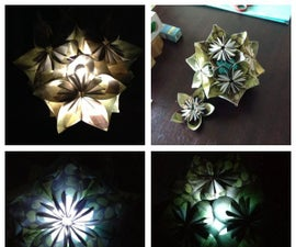 Kusudama Light (Chandelier/Centerpiece)