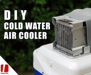 How to Make Air Cooler With Cold Water