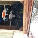 Windsurfing Board Storage