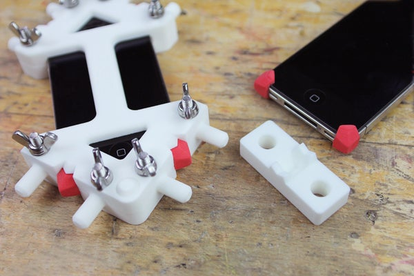 3D Printing + Sugru = Precision Rubber Parts!(iPhone 4/4S and 5) + Video