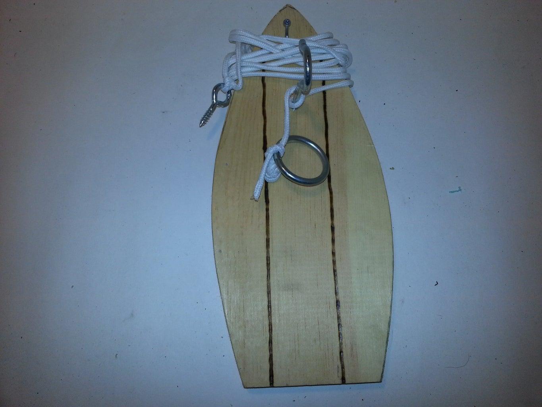 Tiki Ring Hook Game