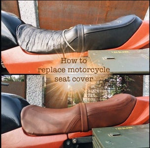 How to Replace Motorcycle Seat Cover