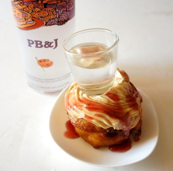 Deep Fried PB&J Shot Cupcakes