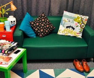 Re-cover Your Ikea Klobo Sofa