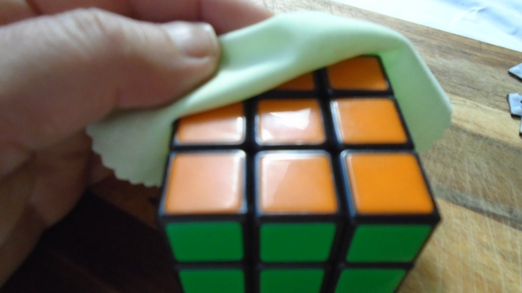 Stick the Tiles to Your Cube