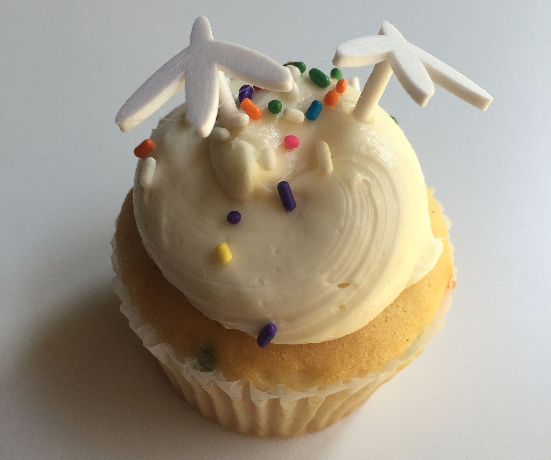 Design and 3D Print a Cupcake Topper