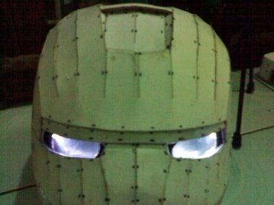 Glowing Eye Assembly