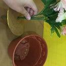 DIY Fake Flower Safe