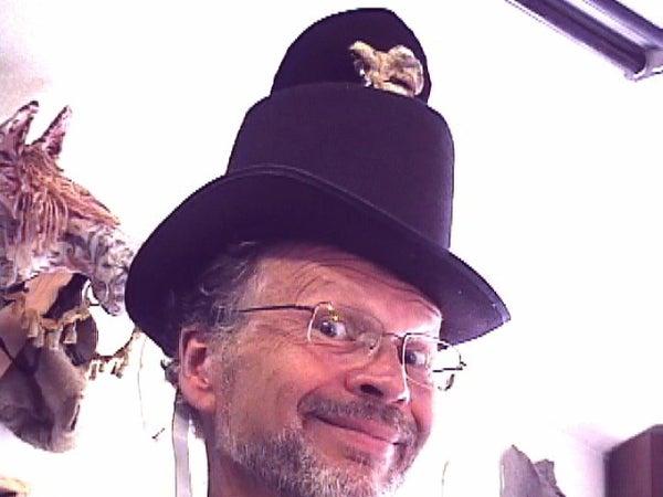 Mr. Hyde Halloween Robotic Top Hat