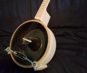 Plywood Bundt Pan Banjo (Bundt-Jo)