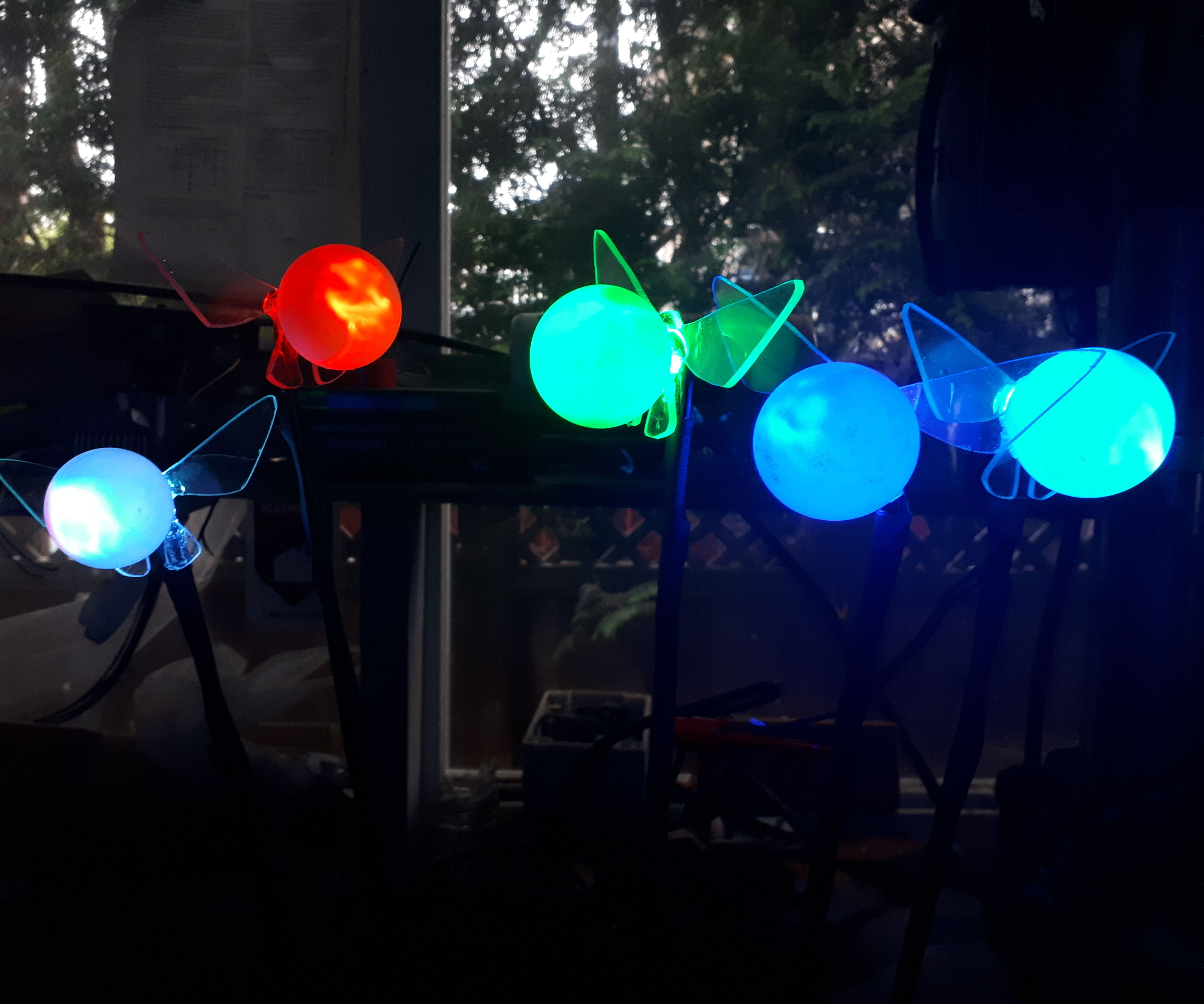 Garden Led Fairies