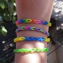Rubber Band Bracelet / Friendship Band