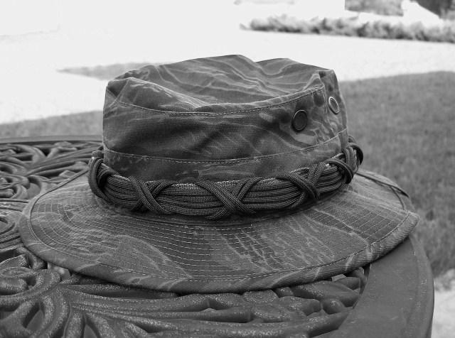 Paracord Boonie Hat Wrap