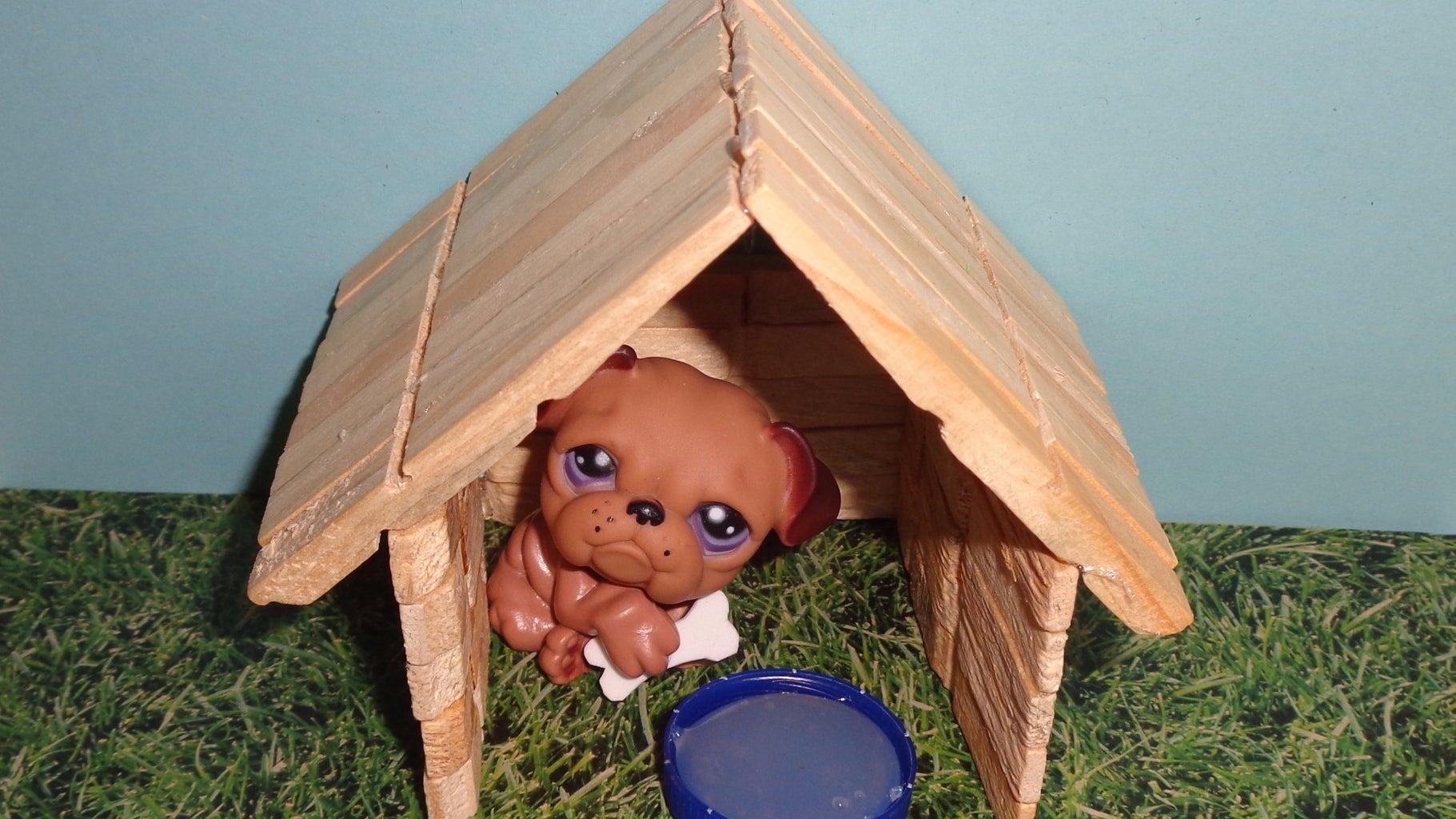 How to Make a Doll Dog House