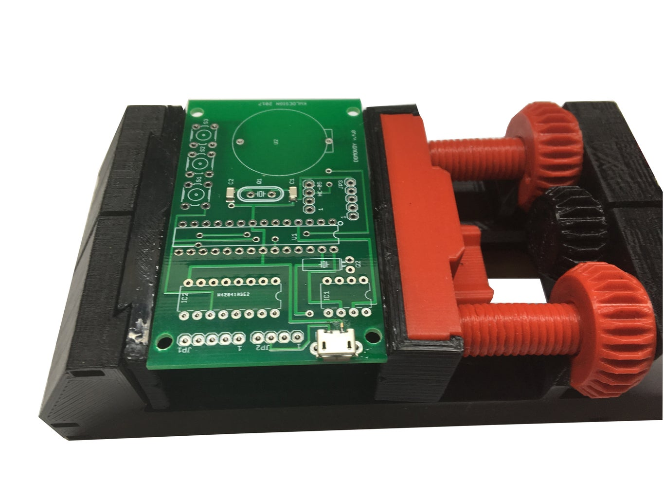 Electronic Board. Assembly