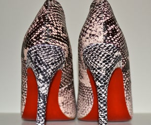 DIY Red Bottom Shoes
