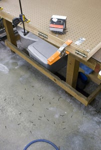 Fasten the Two Peg Boards Together